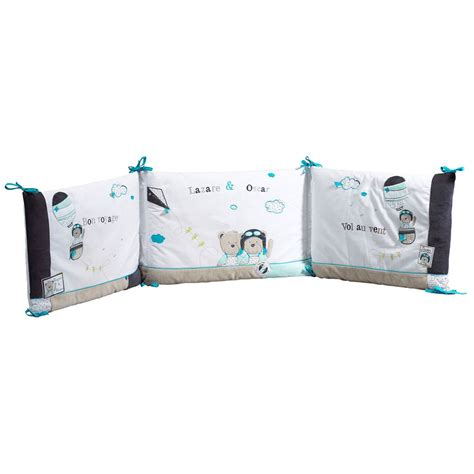 tour de lit bebe aubert lazare tour de lit bleu de sauthon baby d 233 co tours de lit aubert