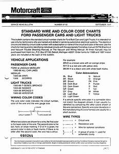 Electrical Wire Color Chart Sheet
