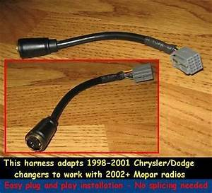Chrysler Jeep Dodge Cd Changer wiring Harness adapter