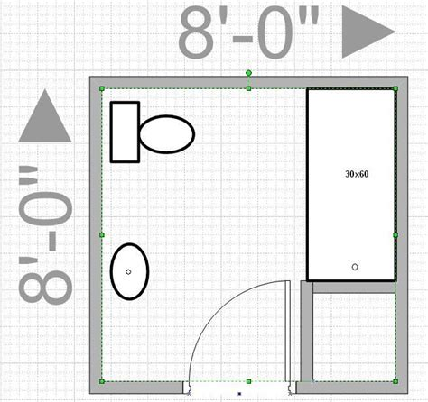 bathroom layout designer can i push out my wall to get an 8x8 bathroom leave me
