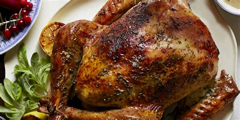 turkey recipes herb and citrus butter roasted turkey recipe