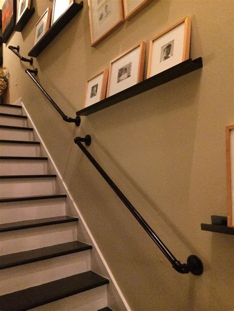 Fitting Banisters by Stair Rail Banister With Brackets Vintage From