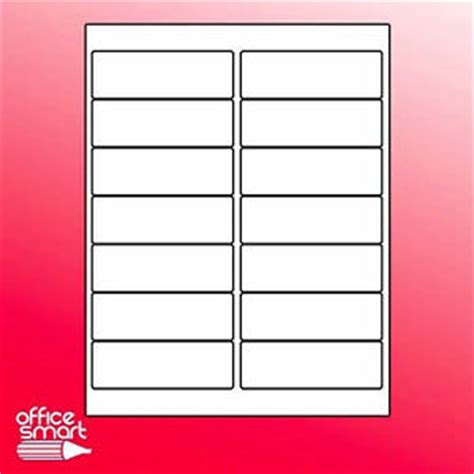 avery 8162 template 150 sheets 8162 8252 8462 8662 size 14up white address labels 4x1 33 ebay