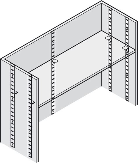 Bookcase Shelving Strips by Flat Bookcase Flush Fitting For Commercial