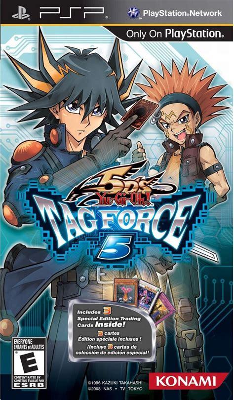 yu gi oh force tag psp 5d gx games game 5ds konami