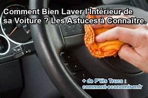 Comment Nettoyer L Intérieur D Une Voiture : comment bien laver l 39 int rieur de sa voiture les astuces conna tre ~ Gottalentnigeria.com Avis de Voitures