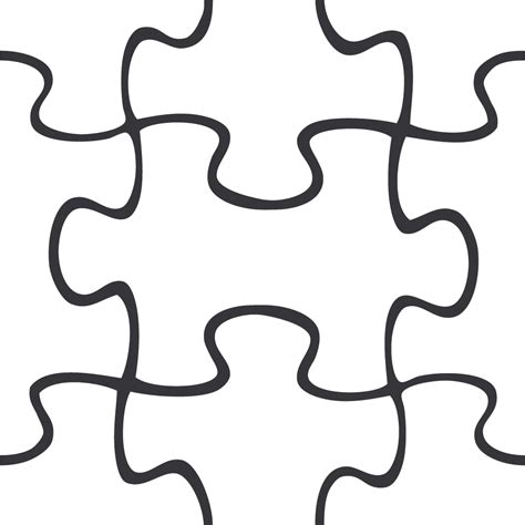 Name Puzzle Template by Puzzle Template For Powerpoint