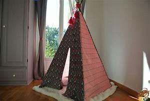 Tipi Pour Chambre : 36 best teepee tipi cabane tente pour enfants images on pinterest tents child room and for ~ Teatrodelosmanantiales.com Idées de Décoration