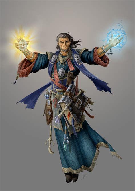 mystic theurge jasonengle wizard cleric deviantart fantasy male drawings characters wizards pathfinder bard dnd mage artwork magic duelist rpg elf