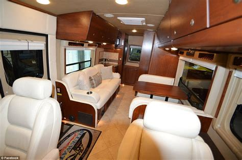 Inside The Nascar Drivers m Motor Homes That Host The