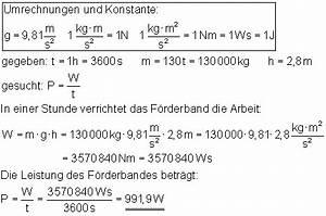 Watt Berechnen Formel : oberstufe l sung der aufgaben zu arbeit leistung und dem wirkungsgrad ii ~ Themetempest.com Abrechnung