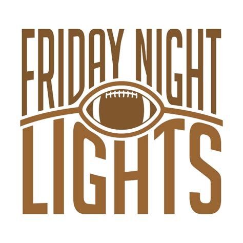 friday lights free friday lights football svg cuttable design
