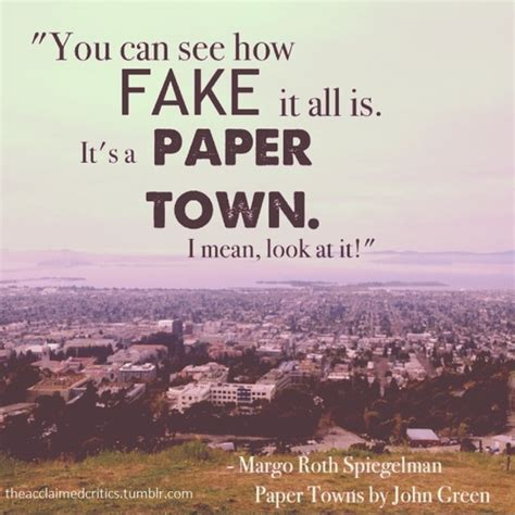 Book Paper Towns Quotes Quotesgram