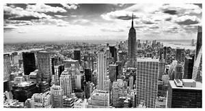 Bild New York Schwarz Weiß : leinwandbild new york city schwarz wei b x h 160cm x 80cm erh ltlich in 5 gr en online ~ Bigdaddyawards.com Haus und Dekorationen