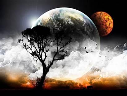 Moon Nature Wallpapers Backgrounds Cool Clouds Desktop