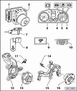 Volkswagen Workshop Manuals  U0026gt  Golf Mk5  U0026gt  Brake Systems  U0026gt  Abs  Adr  Tcs  Edl  Esp  U0026gt  Electrical