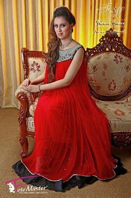 womens evening wear red black combination dresses