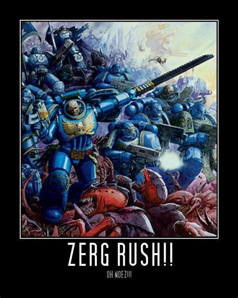 Zerg Rush Meme - image 104586 zerg rush know your meme