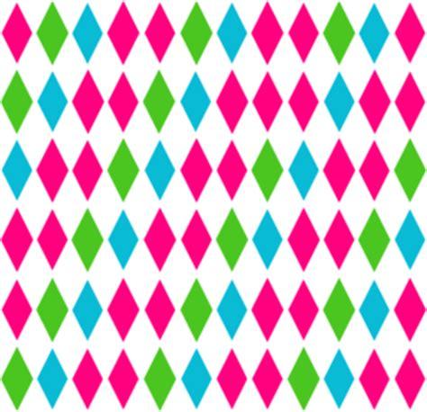 diamond pattern multi clip art  clkercom vector clip