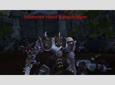 New shattered hand orc models