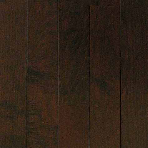 chocolate wood floors millstead hs maple chocolate 3 8 in thick x 3 3 4 in wide x random length engineered click