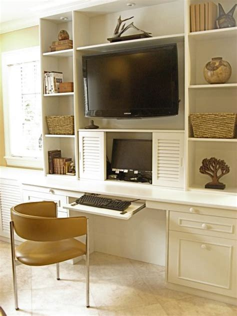 wall unit with desk and tv custom woodwork florida custom carpentry custom