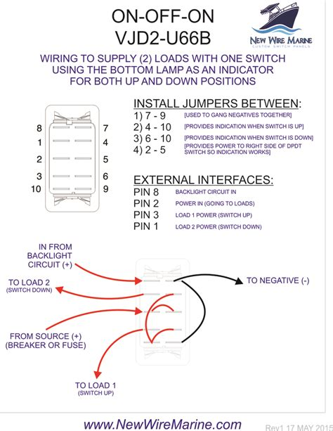 One of the pins on the rocker switch is bronze. Carling 6 Pin Rocker Switch Wiring Diagram For Your Needs