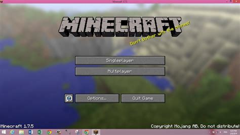 How To Play Minecraft 1.8.7 For Free On Pc!