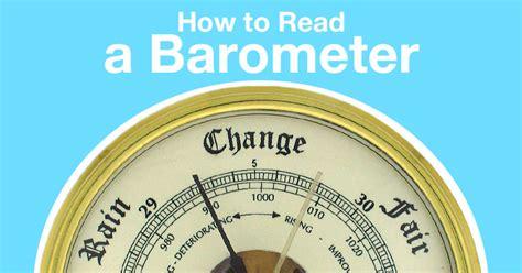 How to Read a Barometer | BestAdvisor