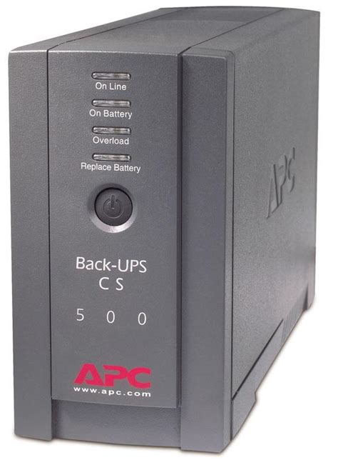apc back ups cs bk500blk 500va 300w ups system electronics