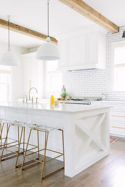 airy  welcoming  white kitchen designs digsdigs