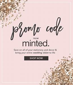 Engagement rings that fit your wedding style minted for Minted wedding invitations promo code