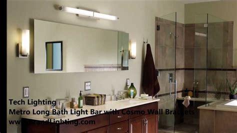 bathroom vanity lighting  tech lighting metro long