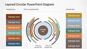 Layered Circular Powerpoint Diagram