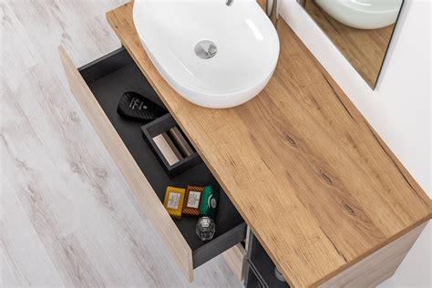 specchio bagno con mensola e mobile bagno con mensola porta lavabo 120 cm con ripiani a
