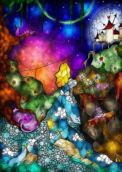 alice 39 s wonderland digital art by mandie manzano