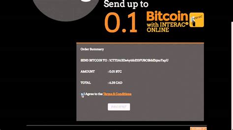 4.1 (18) no matter if you are a bitcoin veteran or a beginner just who just heard about bitcoins, to buy bitcoin with credit. Buy Bitcoin instantly using your debit card in Canada - Interac Online - InstaBT Overview - YouTube