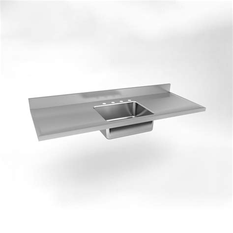 double sink with drainboard just manufacturing sm 60 20 single bowl double drainboard