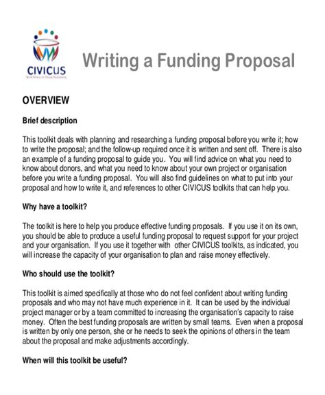 sample project proposal letter examples  word