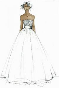 Simple Dresses Designs Sketches | Wedding Gown Sketches ...