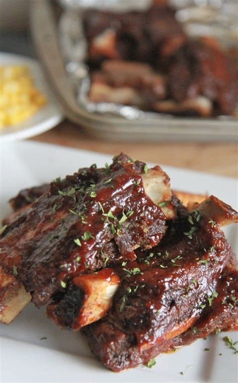 Best Easy Oven Baked Beef Ribs Recipe  Divas Can Cook