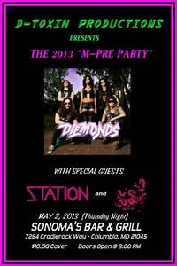 - Bring Back Glam - Unofficial M3 Pre-Party Announced
