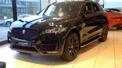 All trims also get a number of new standard safety features, including a reversing camera, front and rear parking aids, emergency braking. Used - Jaguar F-PACE - Black Cars for Sale   Grange