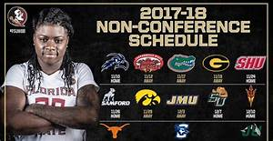 FSU women's basketball releases non-conference schedule