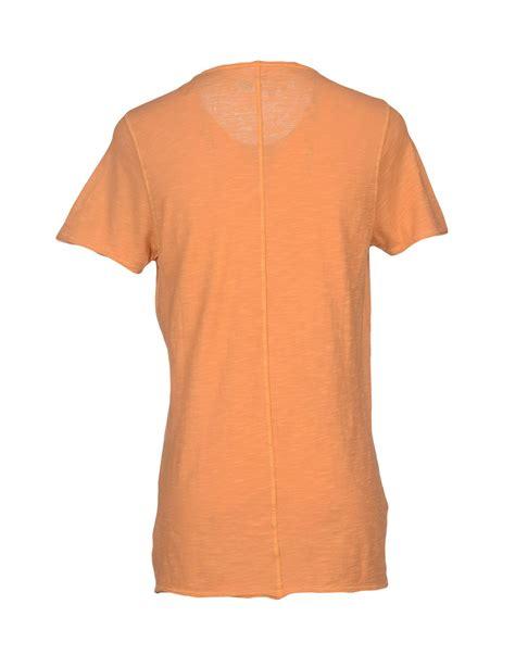 kaos t shirt kaos t shirt in orange for apricot lyst