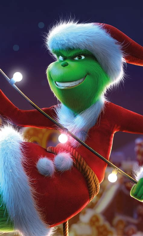 Aesthetic Wallpaper Grinch by The Grinch 2018 1080x1920 Wallpaper T