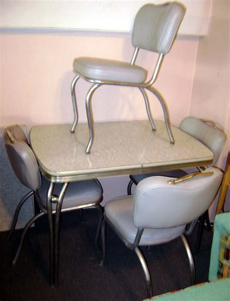 formica table and chairs like s vintage
