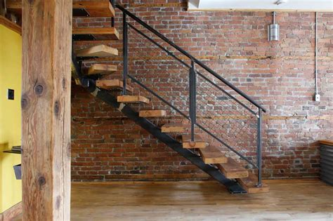 Foldable Stairs Industrial Designer by Home Pmf Ii Iron Works Company In New York Usa