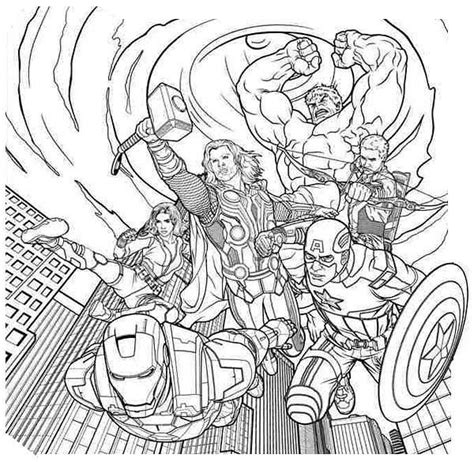 list of 15 avengers coloring pages never seen http