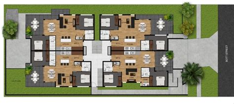 create colored  realistic  floor plan  real estate agents   sparkd fivesquid